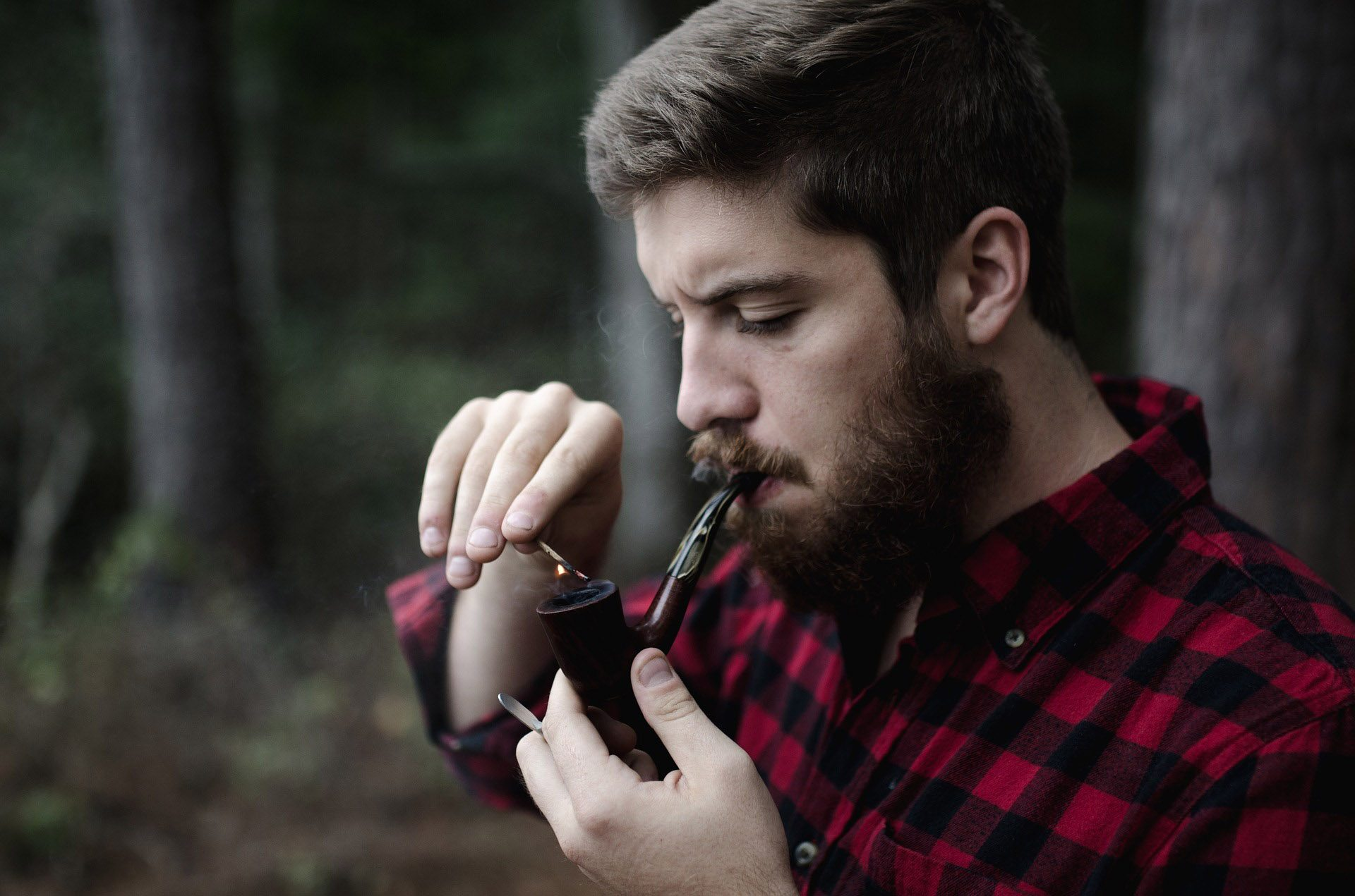 Choice of a smoking pipe