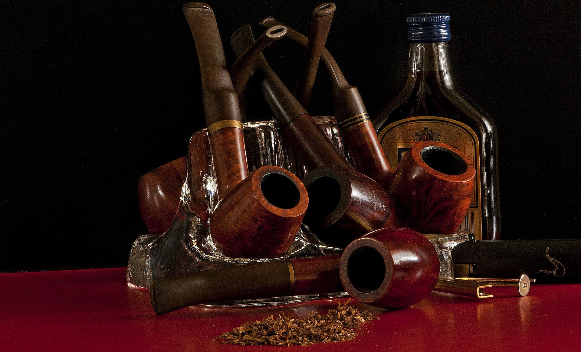 Different types of tobacco mixes