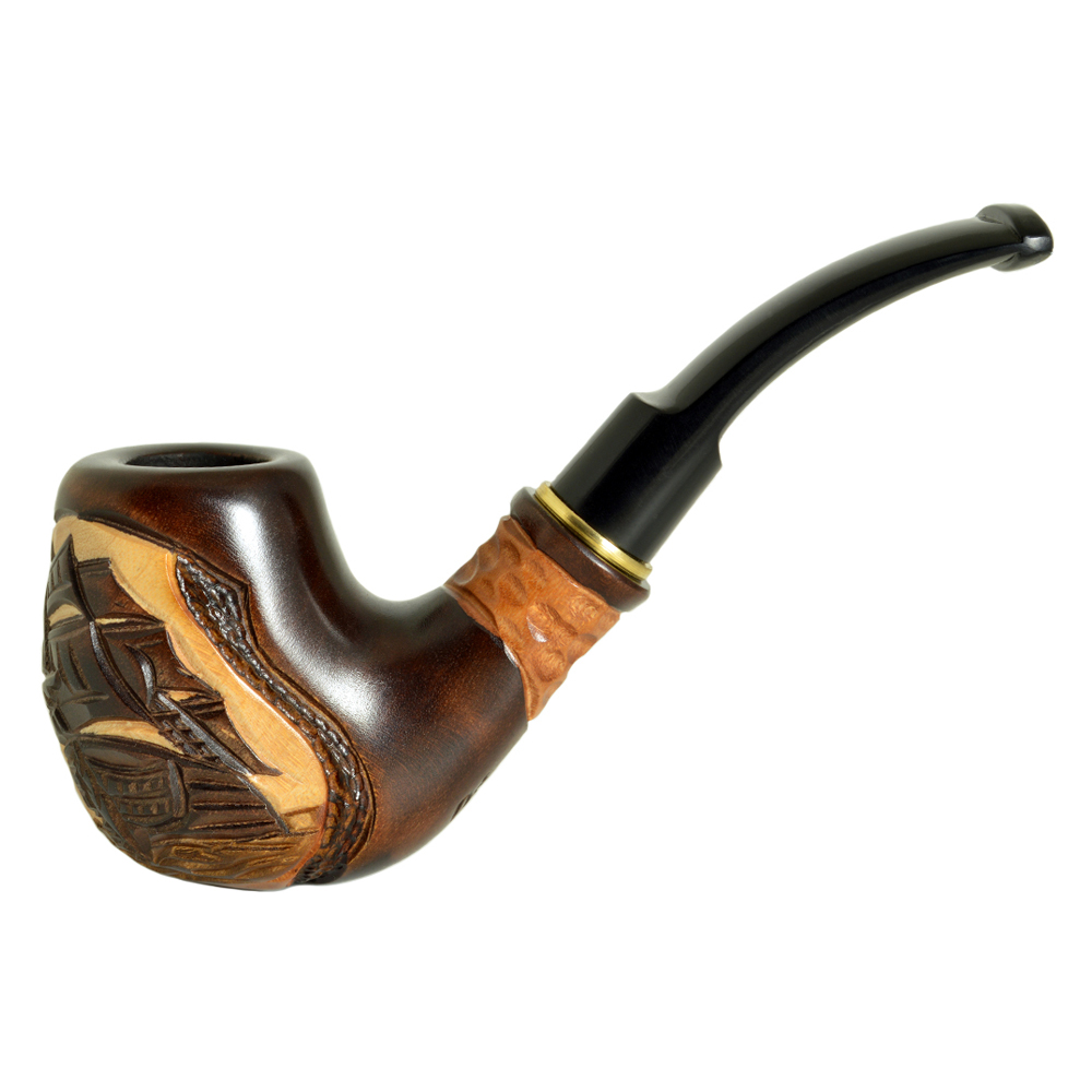 how to build a wooden smoking pipe